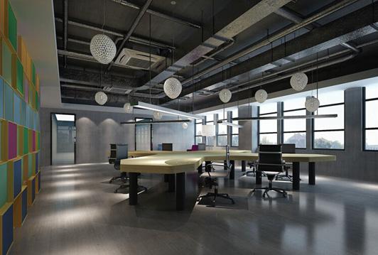 温馨一些,办公室装修在装修方面不只仅要斟酌到温馨