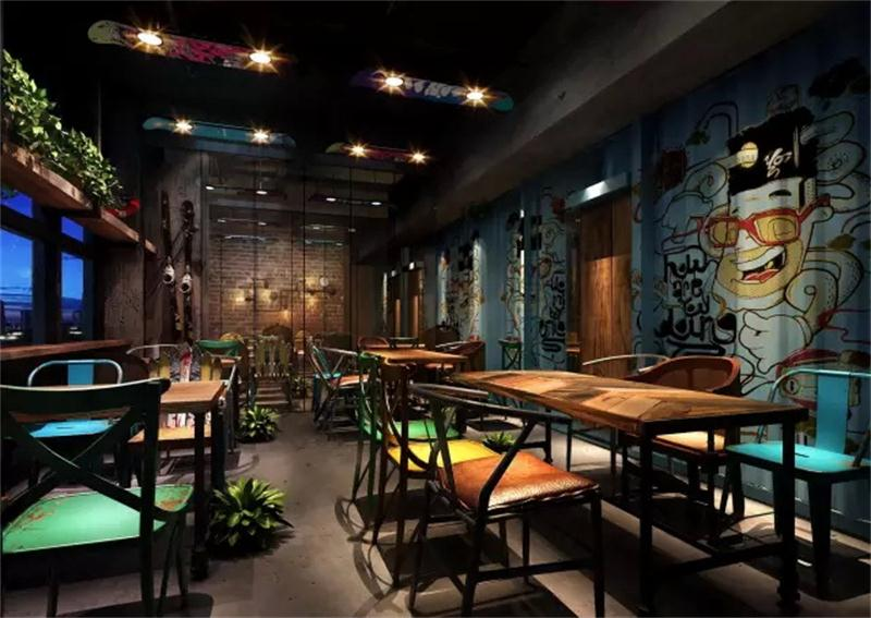 动主题中餐厅设计方案