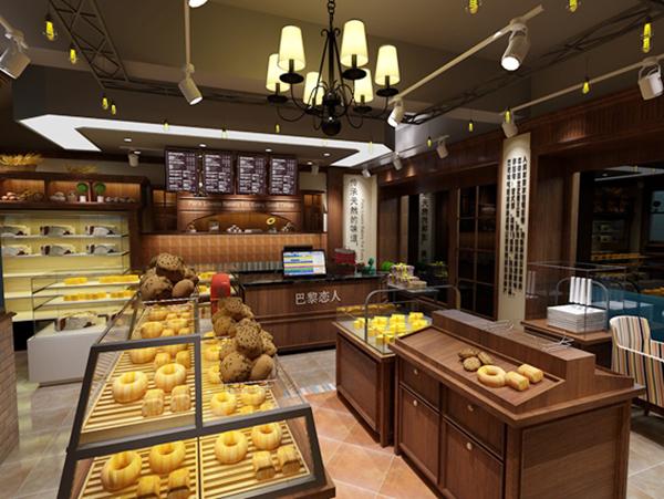 蛋糕店装修图片 蛋糕店装修效果图 乡镇小型蛋糕店
