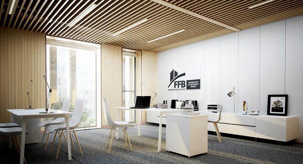一:設計理念在現代簡約辦公室裝修的設計理念中,簡約的設計可以能夠給